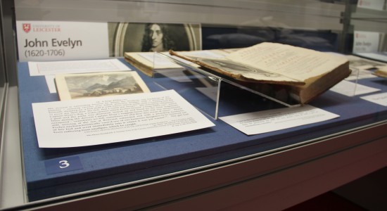 Exception Exhibition on 17th Century Diarist John Evelyn
