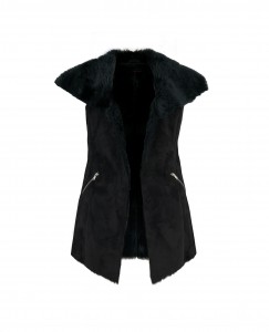 very sued waterfall gilet £59