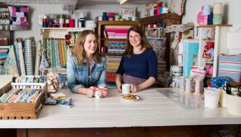 """WE STRUGGLED TO FIND SOMEWHERE THAT BROUGHT TOGETHER BEAUTIFUL FABRICS, INSPIRATION AND A REAL PASSION FOR SEWING."""