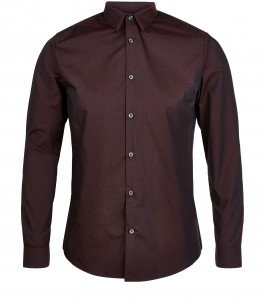 new look £12.99 men shirt burgandy