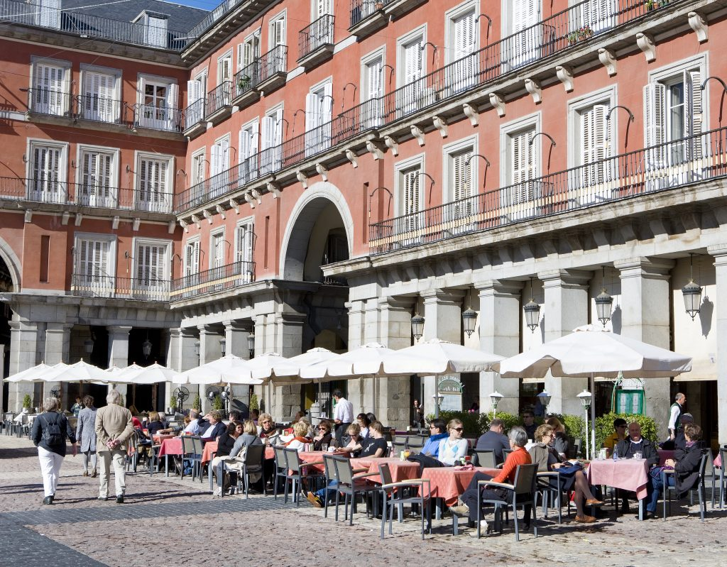 Photo Credit: Terrazas de la Plaza Mayor de Madrid